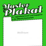 Weißraum eines Plakates